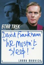 """Star Trek TOS Archives & Inscriptions autograph A39 David Frankham """"We mustn't"""