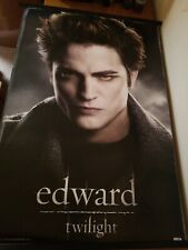 "Twilight Edward Cullen Poster Robert Pattinson approx 34.25"" × 22.5"""