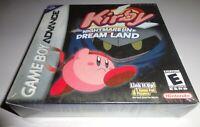 Kirby: Nightmare in Dream Land (Nintendo Game Boy Advance, 2002) NEW GBA