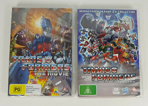 Transformers The Movie Special Edition & Transformers Generation One DVDs New