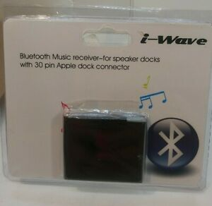 I-Wave Bluetooth Music receiver With 30 pin Apple dock connector
