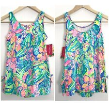 Lilly Pulitzer Girls Size 14 Little Lilly Swim Dress Bathing Suit One Piece NWT