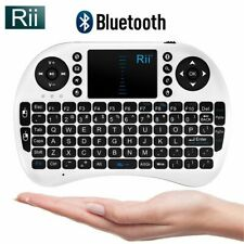 Rii i8 Bluetooth Mini Wireless Keyboard With Touchpad (White)
