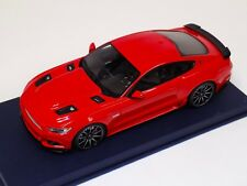 1/18 GT Spirit Ford Mustang Shelby GT in Red No Stripes GT149 Blue Leather