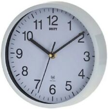 UNITY RADCLIFFE WHITE CASE RADIO CONTROLLED WALL CLOCK 20CM