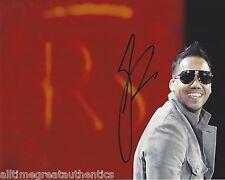 Romeo Santos Firmado 8X10 Foto W/ Coa Latin Singer Bachata Aventura Fórmula C
