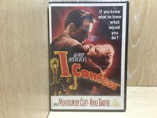 I Confess DVD New & Sealed Alfred Hitchcock Montgomery Clift Anne Baxter