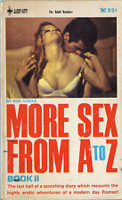 Vintage Sleaze PB Paperback - More Sex from A to Z - Bee-Line Books 1968 Pulp