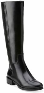 Clarks MARQUETTE SILK Black Leather Zip Up Knee High Boots BNIB, UK 4 D (EU 37)