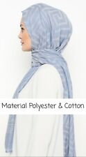 Muslim Women Hijab Headcover Scarf Shaw Premium Quality Islam Size198X97 Cotton