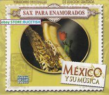 Sax Para Enamorados Valentino's Sax,Tomy Rodriguez, Box set 3CD New Nuevo
