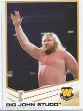 Big John Studd 2013 WWE Topps Triple Threat Trading Card #86 WWF Legends