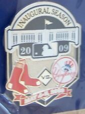 2009 Yankee Stadium 1st Boston Red Sox vs NY New York Yankees pin