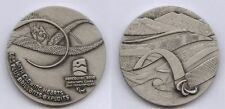 Orig.Teilnehmermedaille    Winter Paralympics VANCOUVER 2010  !!   SEHR SELTEN