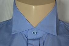YVES SAINT LAURENT YSL Chemise Shirt Chemise Smoking Taille 41 L Brand New 205 € bleu