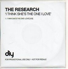 (400D) The Research, I Think She's The One I Love DJ CD