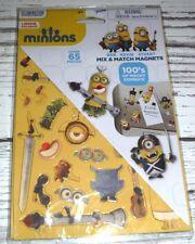 New Despicable Me Minions Refrigerator Fridge School Locker Magnets 65 Pieces!