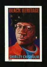 2014 49c Shirley Chisholm, Politician, Imperforate Scott 4856a Mint F/VF NH