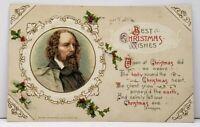 ChristmasJohn Winsch Tennyson Poem 1912 Greenville to Jamestown Pa Postcard H2