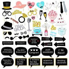 Wedding Photo Booth Props Kit Bridal Shower Photo Booth Prop bride to be