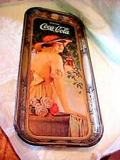 """VINTAGE COCA-COLA TRAY USA 1972 TRIANGLE APPROX 18 7/8"""" L X 8 3/4"""" W 25 YEAR OLD"""