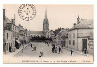 51 - cpa - MOURMELON LE GRAND - La place d'Armes   (C6007)