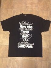 2006 stussy ERIC ELMS world tour t shirts size XL VERY NICE!