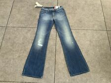 Ladies Gas Jeans Low Rise Bootflare Jeans W27 Leg 34