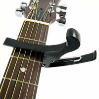 1X(Pince correctrice/accordeur/capodastre pour guitare electrique Noir M4E6)