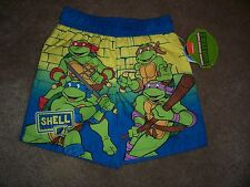 Nwt Boys Teenage Mutant Ninja Turtles Swim Shorts Size 12 Months