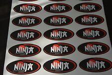 1 autocollants ninja n°6 pour mob Mbk 103 Peugeot