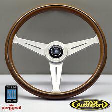 Nardi Steering Wheel ND CLASSIC WOOD Grain Satin Spokes 360mm 5051.36.6300