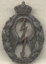 WWII Italian Air Forice Bronze Diver Bomber Qualification Badge