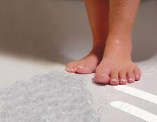 Safe-T-Strips White Non-Slip Safety Applique Decal Stickers Bath Tub Shower