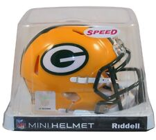 GREEN BAY PACKERS RIDDELL NFL MINI SPEED FOOTBALL HELMET
