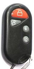 REMOTE STARTER BEEPER KEYLESS Remote ALARM ENTRY FOB RED  4 BUTTON TRANSMITTER