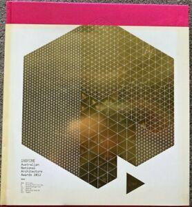 2012 1st INSPIRE AUSTRALIAN NATIONAL ARCHITECTURE AWARDS 1/3000 free EXPRESS AU