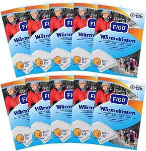 10 Wärmekissen FIGO, 12h, Wärmespender, Wellnesprodukt  Entspannung, 0106-10er
