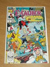 EXCALIBUR #5 VOL 1 MARVEL CAPTAIN BRITAIN FEBRUARY 1989