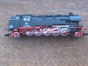 Minitrix. Ref. No. 2053. DB  85007. 2-10-2 Tank Locomotive.. N Scale