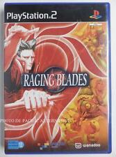 COMPLET jeu RAGING BLADES sur playstation 2 PS2 en francais juego gioco spiel