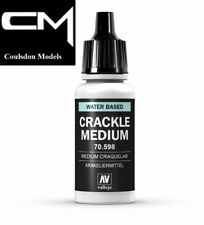 Vallejo Model Color Crackle Medium 70.598 / 70598 Waterbased  - 17ml Bottle