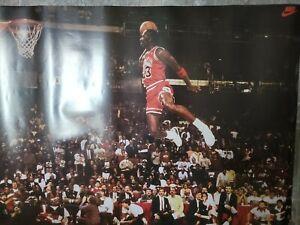 Michael Jordan Poster #5284 Nike 1992 Slam Dunk FL Og Vintage Air Jordan ICONIC