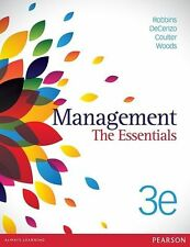 Management: the Essentials by Mary Coulter, Megan Woods, Stephen Robbins, David…