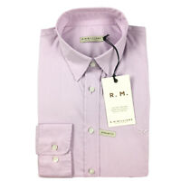 RM Williams Womens Nicole Long Sleeve Button Up Shirt Pink Pin Stripe Size 12