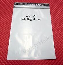 22 Poly Bag Shipping Envelopes 9''x 12'' / 2.5 Mil Self-Sealing Postal Mailers