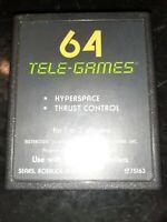 Asteroids (Atari 2600, 1980) *BUY 2 GET 1 FREE +FREE SHIPPING*