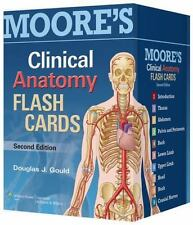 Clinical Anatomy by Alan Moore and Douglas J. Gould (2013, Cards,Flash Cards,.