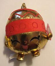 """NWT SHOPKINS Ornament Annie 7"""" PLUSH HOLIDAY CHRISTMAS"""