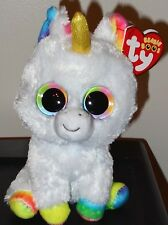 """Ty Beanie Boos ~ PIXY the 6"""" Unicorn ~ Stuffed Toy ~ 2017 NEW ~ IN HAND"""